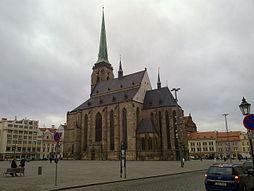 Katedrála sv. Bartoloměje na náměstí Republiky