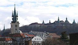 Svatá Hora nad Příbramí a kostel sv. Jakuba
