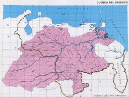 Orinoco's watershed, the Orinoquia