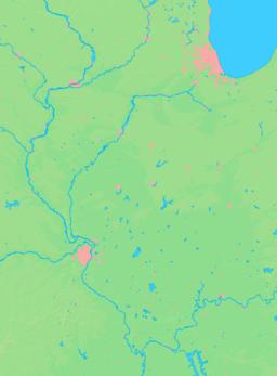 Location of LaSalle within Illinois