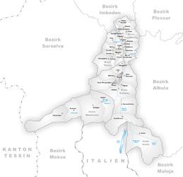 Donat – Mappa