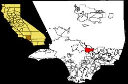 Pasadena – Mappa