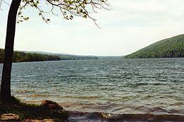 Panorama del lago Canadice
