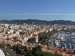 Cannes – Veduta