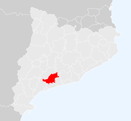 Alt Camp – Localizzazione