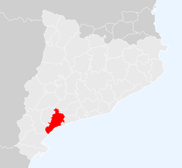 Baix Camp – Localizzazione