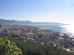 Panorama di Chiavari