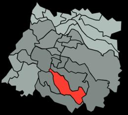 Longaví – Mappa