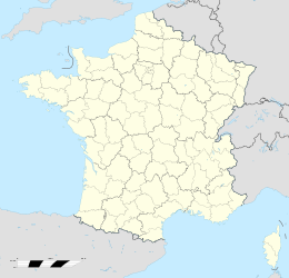 Sainte-Blandine  posizionata in Francia
