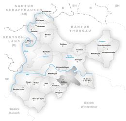 Adlikon – Mappa