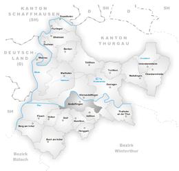 Andelfingen – Mappa