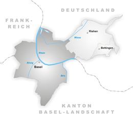 Basilea – Mappa