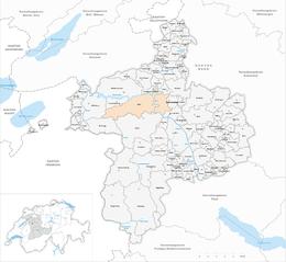 Berna – Mappa