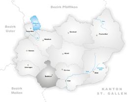 Bubikon – Mappa