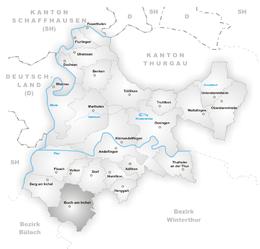 Buch am Irchel – Mappa