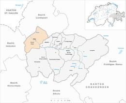 Coira – Mappa