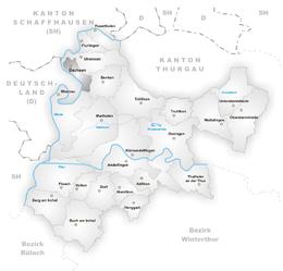 Dachsen – Mappa