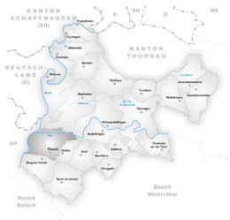 Flaach – Mappa