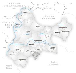Henggart – Mappa