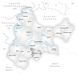 Humlikon – Mappa