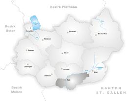 Rüti – Mappa