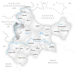 Rheinau – Mappa