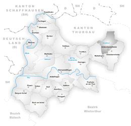 Unterstammheim – Mappa