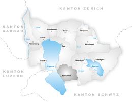 Walchwil – Mappa