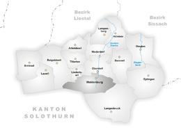 Waldenburg – Mappa