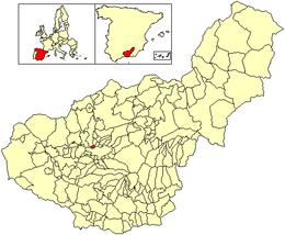 Maracena – Mappa