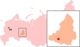 Ekaterinburg – Mappa