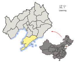 Dalian – Mappa