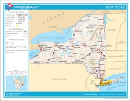 New York – Mappa
