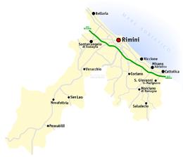 Provincia di Rimini – Veduta