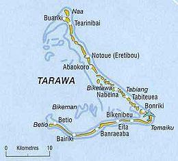 Tarawa Sud – Mappa
