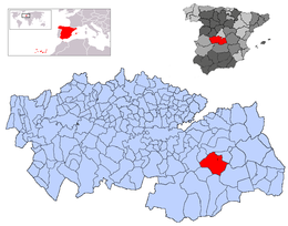 Tembleque – Mappa