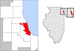 Chicago – Mappa