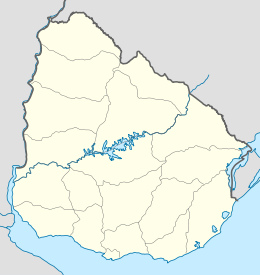 Treinta y Tres  posizionata in Uruguay
