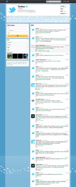一幅Twitter個人檔案影像