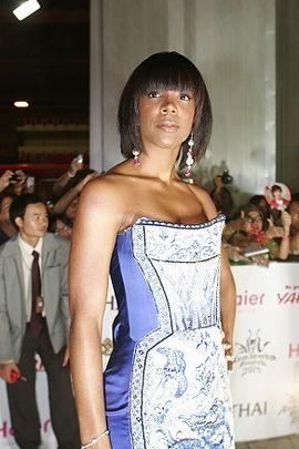 Rowland pe covorul rosu la premiile MTV Asia Awards in Bangkok pe 6 mai, 2006.