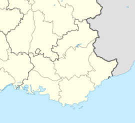 Miramas is located in Provence-Alpes-Côte d'Azur