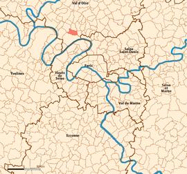 Sannois map.png