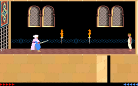 Prince of Persia 1990 combattimento.png