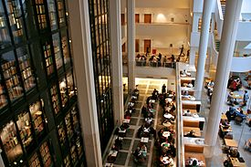 View of the Kings Library, British Library.jpg