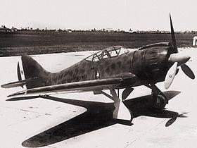 Il prototipo nella versione definitiva a Foligno il 5 novembre 1940