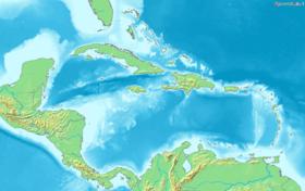Nevis è posizionata in America centrale