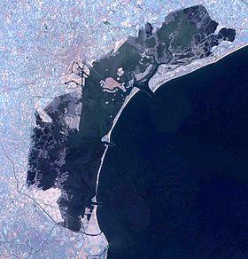 Sacca Sessola è posizionata in Laguna di Venezia