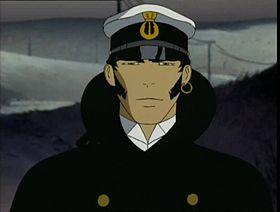 Corto Maltese come appare nella serie animata