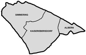 Bezirksteile von Simmering