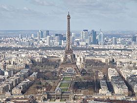 巴黎埃菲尔铁塔及拉德芳斯